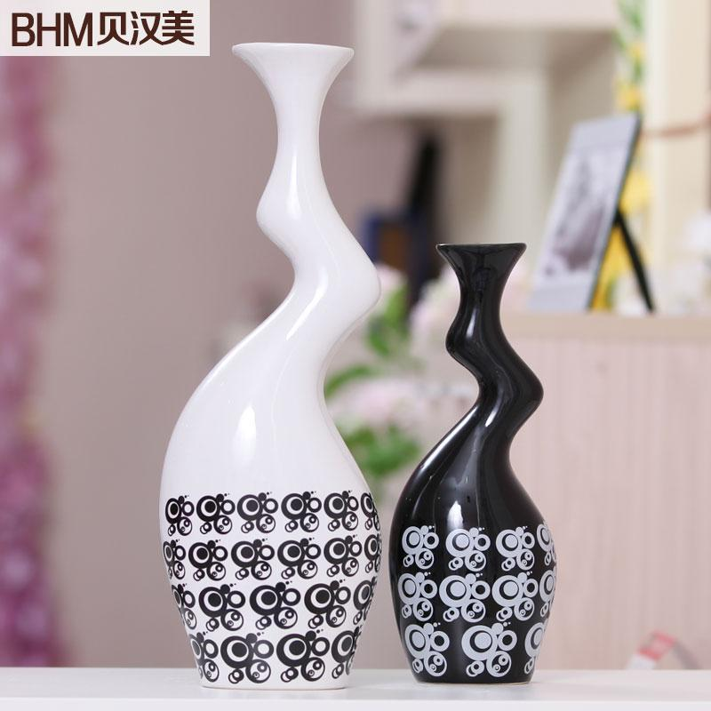 living room ornaments furniture sofas uk home accessories decorated ceramic vase modern minimalist black and white decorative va online with 104 1 piece on