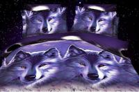 3d Wolf Bedding Sets Queen Full Size Bedspreads Quilt ...