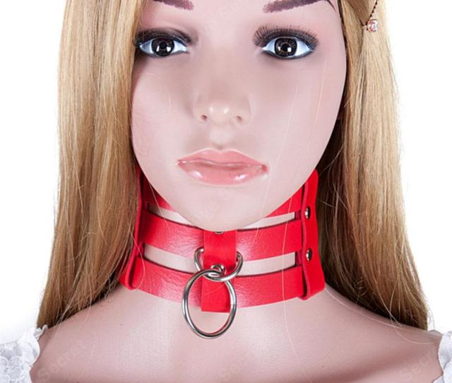 Pu Leather Slave Collar Harness Adult Bondage Toys Bdsm Fetish Wear Sex Leather Mask For Couples Female Cosplay Sex Products  Freeonlinegames Games