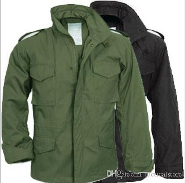 Tactical Army Marine Corps Coats Waterproof Resistant M65