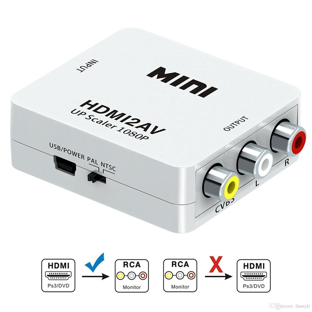 medium resolution of hdmi to av converter box hd to av cvsb video hdmi to vga adapter hdmi2av support ntsc and pal output vga to hdmi adapter with audio vga to hdmi adapters