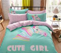 2017 Bright Pink Turquoise Color Bedding Set Full Queen ...