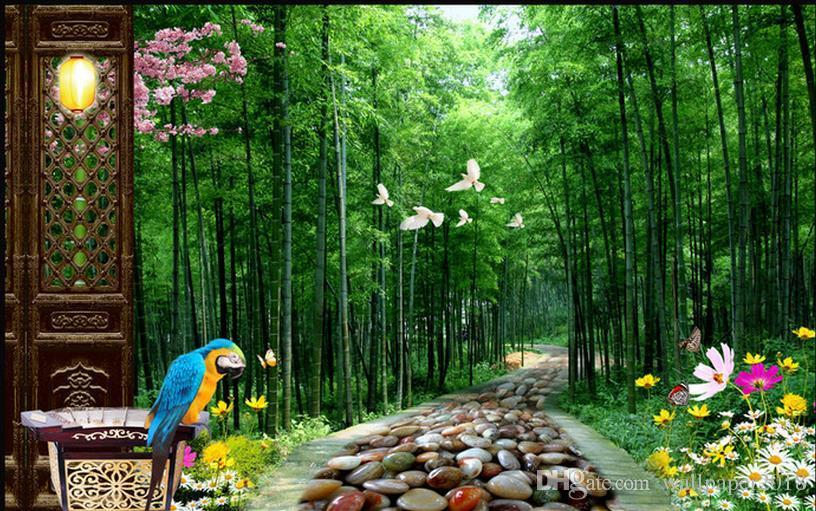 Winnie The Pooh Fall Desktop Wallpaper Fresh Aesthetic Bamboo Forest Tv Background Wall Desktop