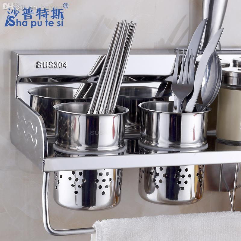 wholesale kitchen kitchens with islands 2019 article holding rack holder spice kitchenware 304 stainless steel utensils racks from zhexie 123 96 dhgate com