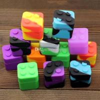 Square Silicone Container Dab Bho Wax Lego 9ml Storage