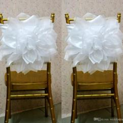 Chair Covers Wedding Costs Antique Barber Chairs For Sale 2015 Sash Weddings With Big Organza 3d Flowers