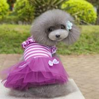 Pomeranian Dresses Chihuahua Summer Clothing Dogs Princess ...