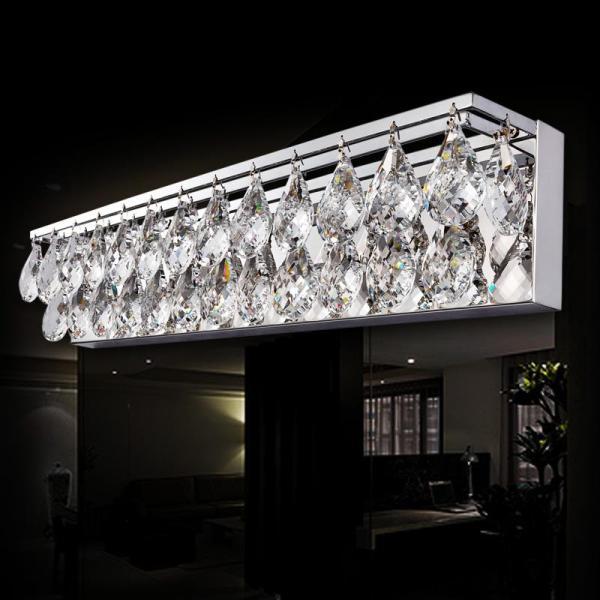 Crystal Bathroom Light Fixtures LED