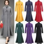 Long Winter Dress Coats for Women