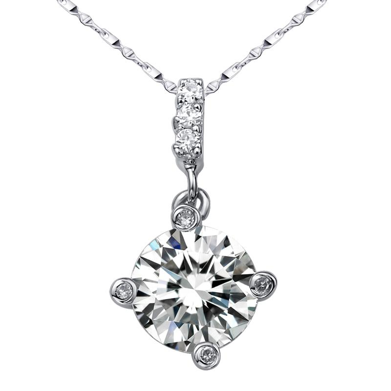 Flammable Volcano Genuine 925 Silver Necklace Female Short