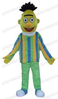 Am0056 Bert And Ernie Mascot Costume Cartoon Character ...