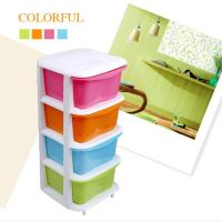 2017 Four Drawer Storage Cabinets Plastic Candy Colored ...