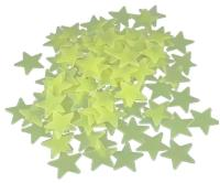 Plastic Luminous Stars For Ceiling Walldecor Glow In The ...