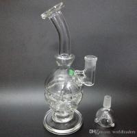 2017 Hand Blown Glass Bong Water Pipe Glass Bong Vase Perc