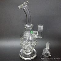 2017 Hand Blown Glass Bong Water Pipe Glass Bong Vase Perc ...