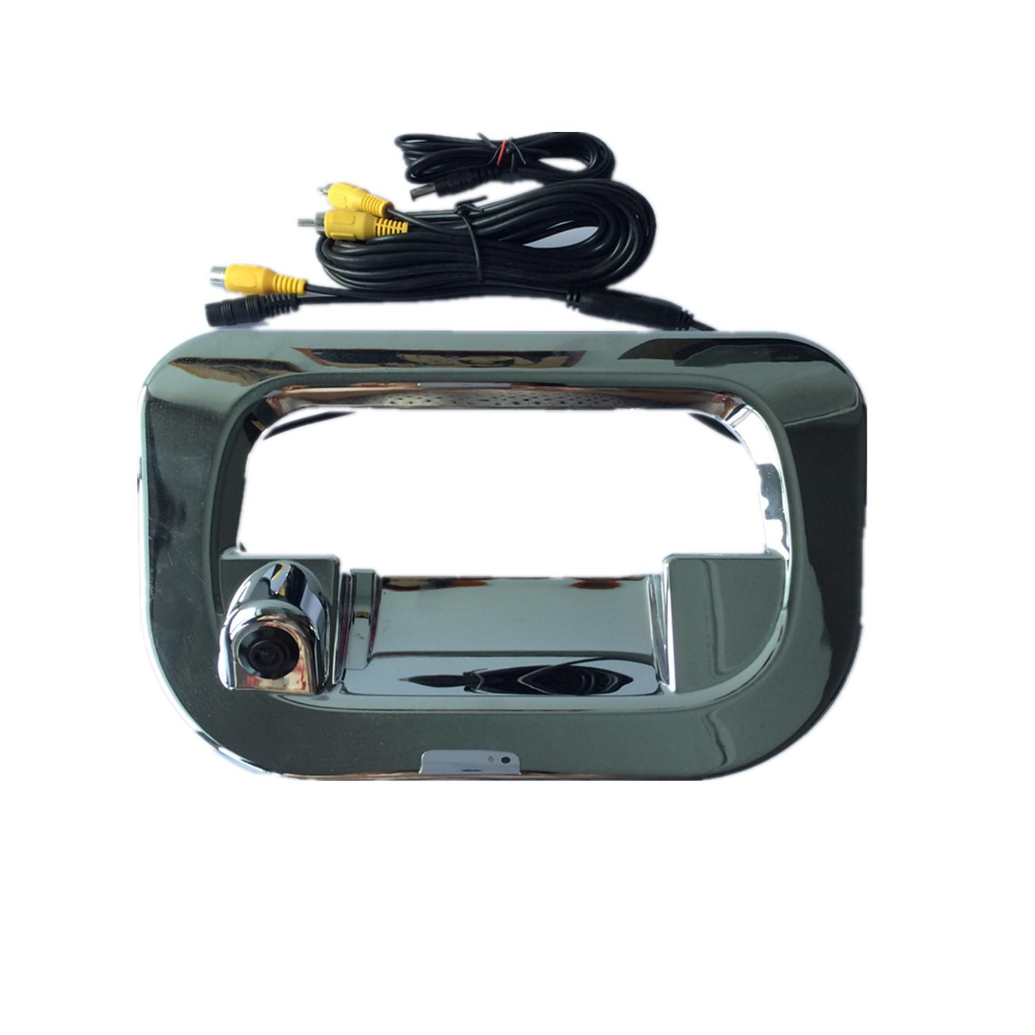 hight resolution of 2018 car wide angle tailgate cover rear view reverse camera for toyota hilux vigo year of