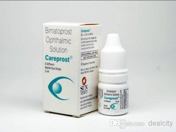 Bimatoprost Ophthalmic Solution Generic Latisse Sealed Authentic Careprost Eyelash Growth Serum