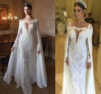 Berta Bridal Gowns 2015 Lace Wedding Dresses Two Pieces ...