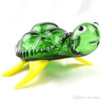 Wholesale Turtle Glass Pipes Hand Spoon Pipes 5 Inches ...