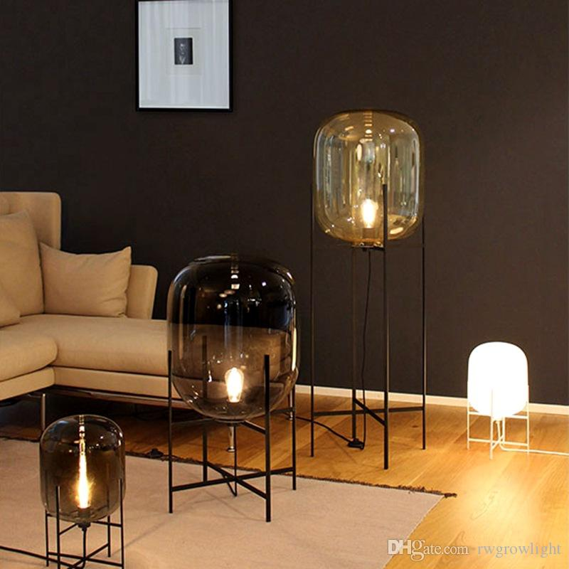 best floor lamps living room carpets nordic post modern simple glass creative standard lamp cheap classic crystals
