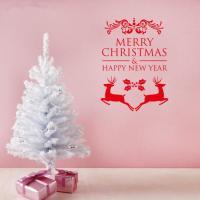 Christmas Window Decoration Stickers Merry Christmas Happy ...