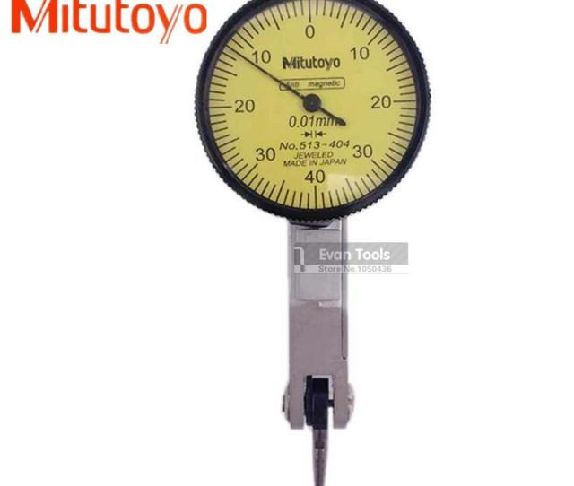 Wholesale G Mitutoyo 513 404 Dial Test Indicator Mm 0 01mm Lever Indicator Gauge Measuring Tools T Tools Knife Dremel Gauge Jewelry Gauge Length Tool
