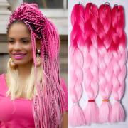 64inch 165gram ombre color synthetic