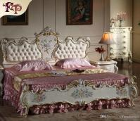 2018 French Provincial Furniture Bedroom Rococo Style