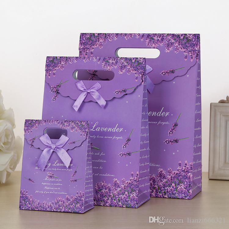 Handmade Flowers Wedding Candy Bag Gift Bags Jewelry Bag