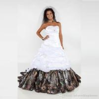 Discount 2016 Elegant Camo Wedding Dresses Sweetheart ...