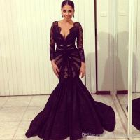 2016 New Vestidos De Festa Sexy Fancy Evening Dresses Lace ...