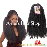 Crochet Marley Braids Hair Extensions Afro Kinky Ombre ...