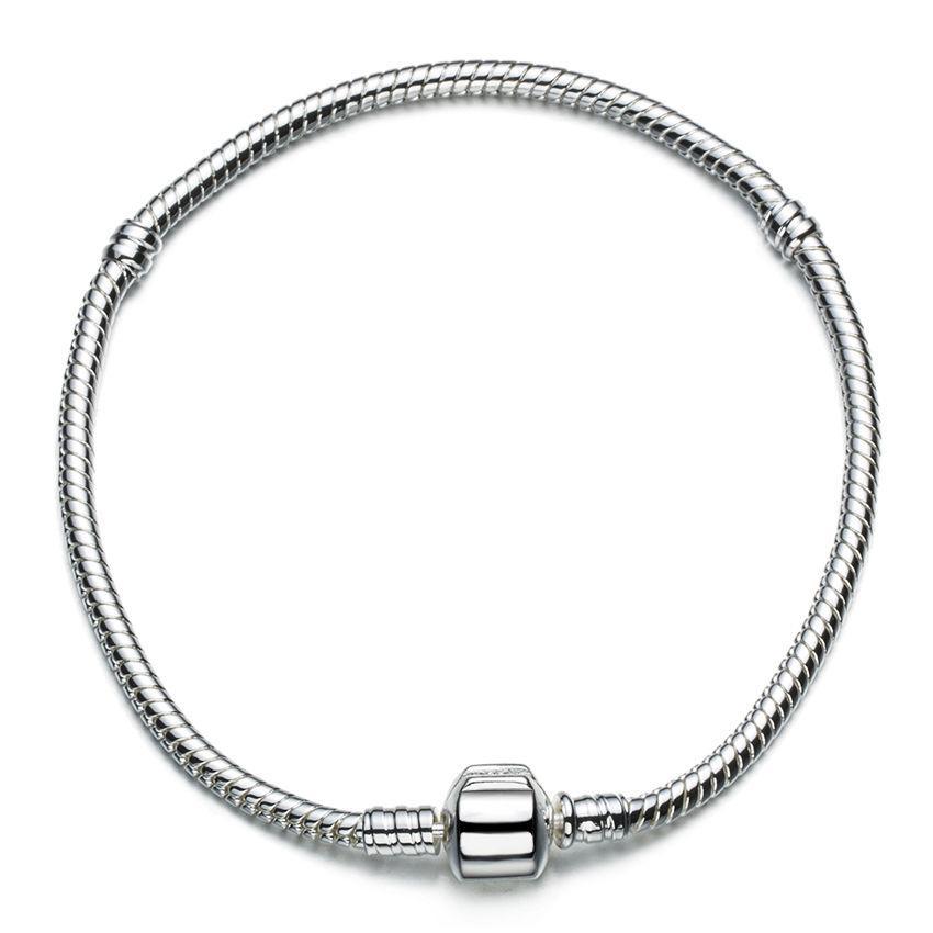 2019 Wholesale 925 Sterling Silver Charm Bracelets Screw