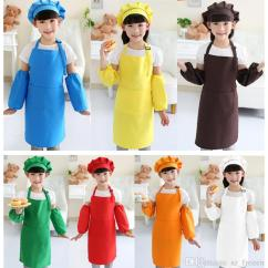 Kitchen Apron For Kids Design A Small Space Aprons Pocket Craft Cooking Baking Art Painting Cheap Beauty Best Man Fashion