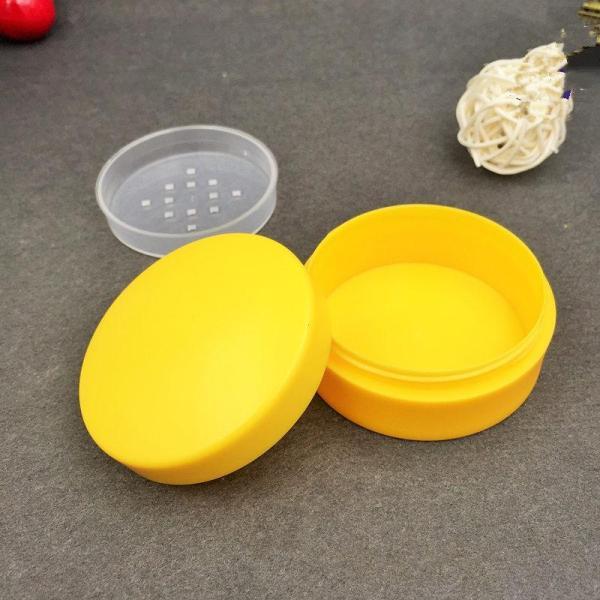 Sample Button Jar Box 5g Clear Small Pot Leak Proof Cream