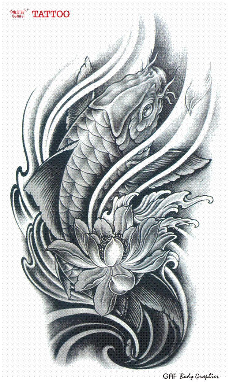 Grandes Tatuajes Temporales Tatuaje A Prueba De Agua Mujeres Hombres