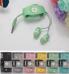 headset in ear earphone with mic 3 5mm onlygo headphone dual candy color with cable holder winder organizer for iphone 6 cell phone mp3 ipod mobile phone  [ 1000 x 1000 Pixel ]