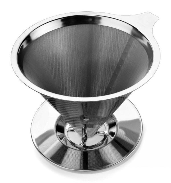 2019 Stainless Steel Pour Over Coffee Maker Dripper