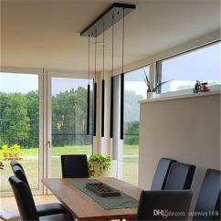 Kitchen Lamp Space Saver Table Pendant Lights Modern Dining Room Bar Counter Shop Pipe Down Spot Light 3cm Diameter Cylinder Aluminum Canada 2019 From