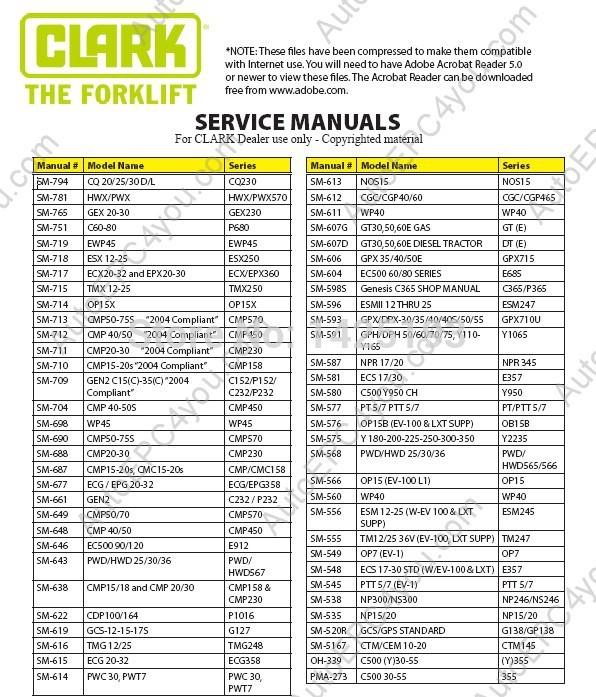 clark service manual 2014?resize=596%2C697 clark c500 40 wiring diagram clark forklift wiring diagram  at bayanpartner.co