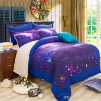 3d Galaxy Bedding Sets Queen/King Size Universe Outer ...