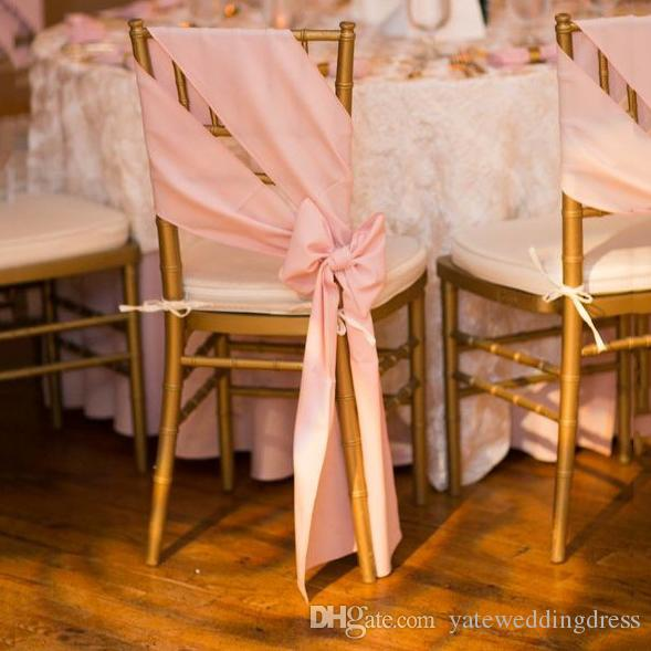 elegant chair covers for wedding flight simulator 2019 sash can be tied into bow satin custom made high quality 2016 decorations factory sale new from