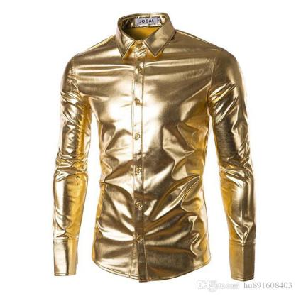 Image result for gold shirt