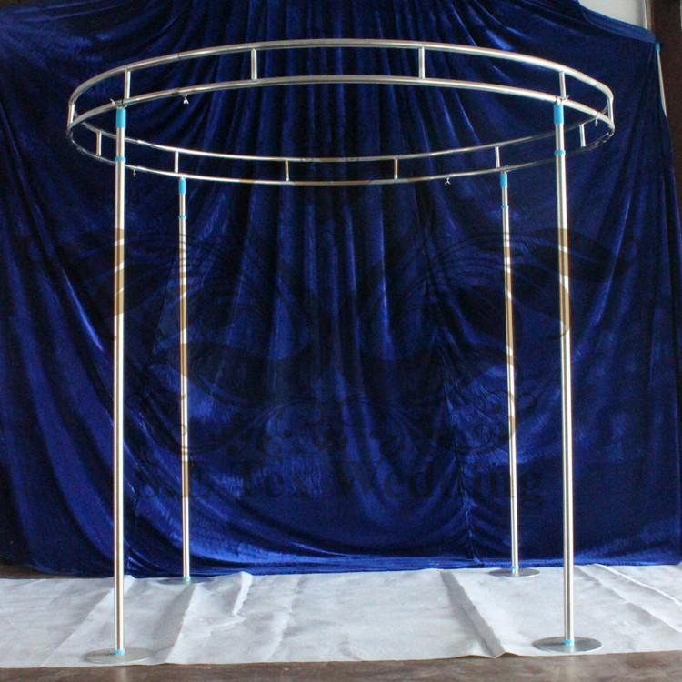 Round Shape Backdrop Stand Stage Stent For Wedding