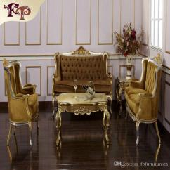 Classic Living Room Chairs Grey And Baby Blue Ideas 2019 Baroque Furniture European Sofa Set With Silver Gold Leaf Gilding Italian Luxury From Fpfurniturecn