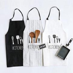 Kitchen Aprons Display Cabinets For Sale New Women Men Apron Commercial Restaurant Home Bib Spun Poly Cotton Man Online With 14 86 Piece On