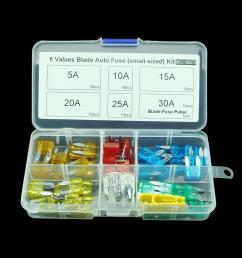 mini auto automotive car boat truck blade fuse box assortment 5a 10a 15a 20a 25a 30a 32v small sized high quality blade fuse b china blade fuse supplier  [ 1000 x 1000 Pixel ]