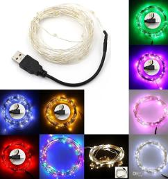 5m 10m multi colors usb 5v sliver wire christmas 50 100 led string fairy lights led string light led string usb usb led light online with 5 47 piece on  [ 1001 x 1001 Pixel ]