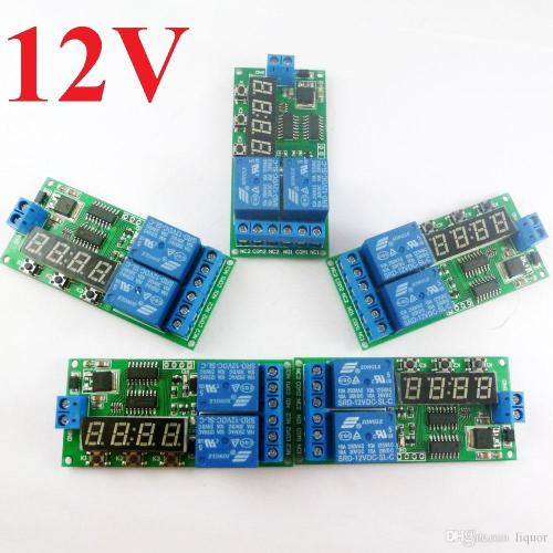 small resolution of kc22b02 dc 12v power on delay relay cycle timer switch board 1 9999s cyclic relay wiring diagram