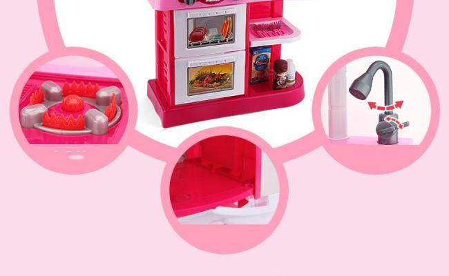 2019 Beiens Brand Toys Kids Kitchen Set Children Kitchen